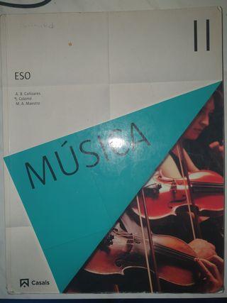 Libro Música ll. Casals.