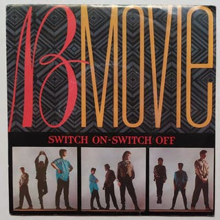 Disco de Vinilo Single Promo B-Movie Switch On