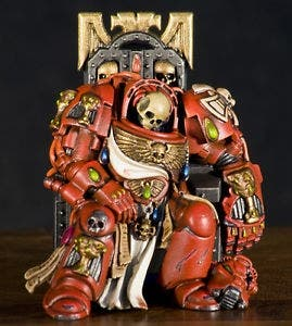 Space Hulk Exterminador en trono warhammer 40000