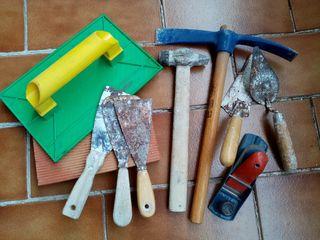 LOTE herramientas albañil