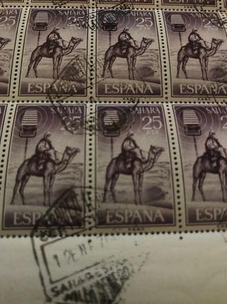 Sellos del Sahara Español