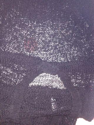 camiseta ganchillo chica talla M