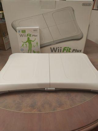Tabla Wii fit plus + juego