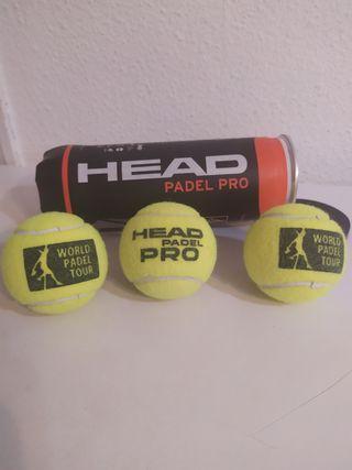 16 PELOTAS HEAD PADEL PRO