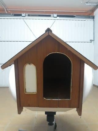 Caseta madera para mascota