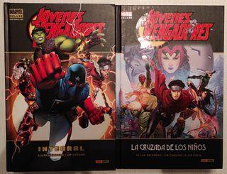 Pack cómics Los Jóvenes Vengadores