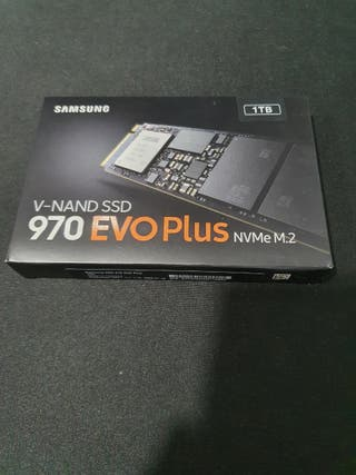 samsung v-nand ssd 970 evo plus NVMe M2 1tb
