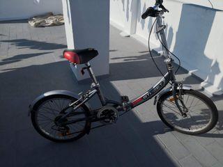 Bicicleta plegable street aluminio