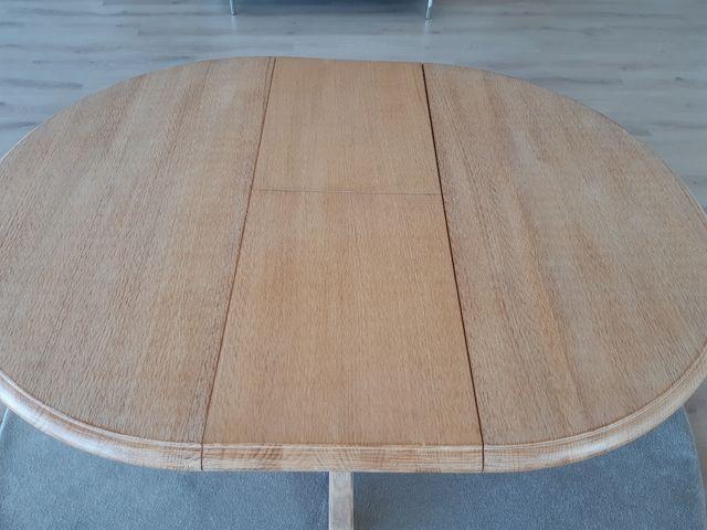 mesa extensible de madera
