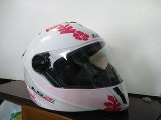 casco moto ls2 de niña