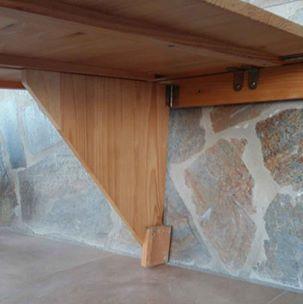 Mesa de pared extensible