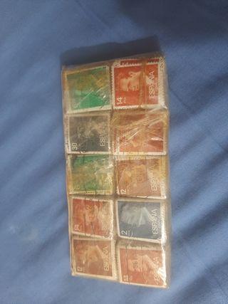 coleccion de 1000 sellos patasellados