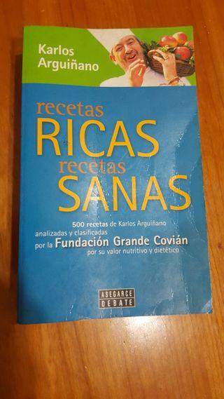 Karlos Arguiñano - 500 Recetas Ricas Recetas Sanas