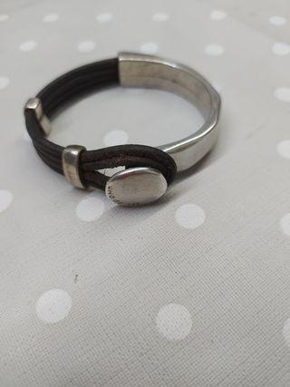uno de 50 pulsera plata