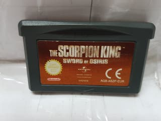 The SCORPION KING , Game boy advanced