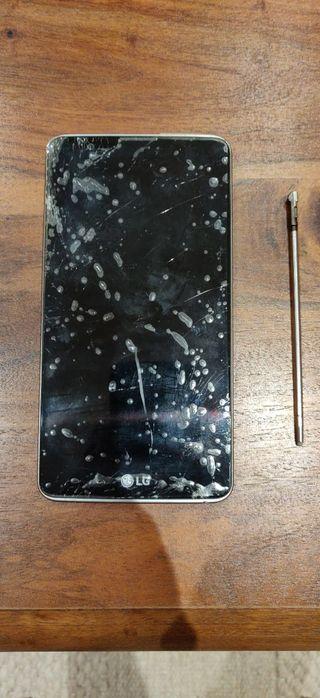 LG Stylus 2 pantalla rota. perfecto funcionamiento
