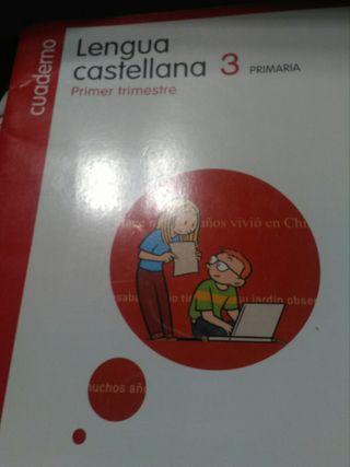 libro lengua castellana primer trimestre nuevo
