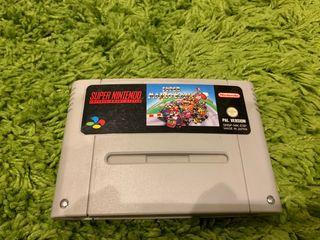 Super Mario Kart de SNES Super Nintendo