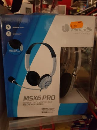 AURICULARES NGS con micro