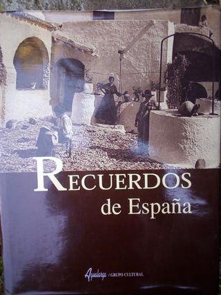 libro recuerdos de España