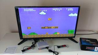 Consola retro, 620 juegos, 2 mandos y más