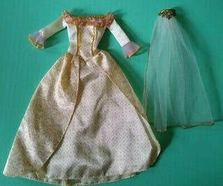 Vestido Boda Barbie Anneliese (LEER DESCRIPCIÓN)