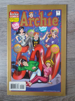 Archie número 500 en inglés. cómic USA. nuevo