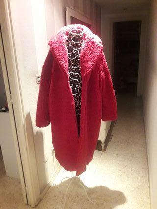 abrigo peluche