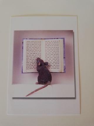 Postal arte en miniatura