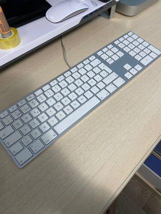 Raton y teclado original apple