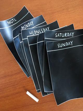 Organitzador semanal