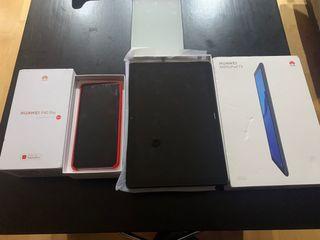 Huawei p40 pro y tablet Huawei Mediapad t5