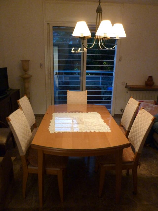 Mesa comedor extensible / taula saló extensible