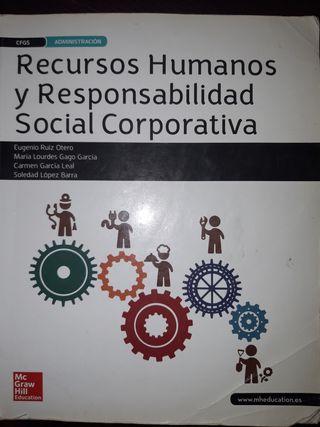libro de Recursos humanos de Grado superior de adm