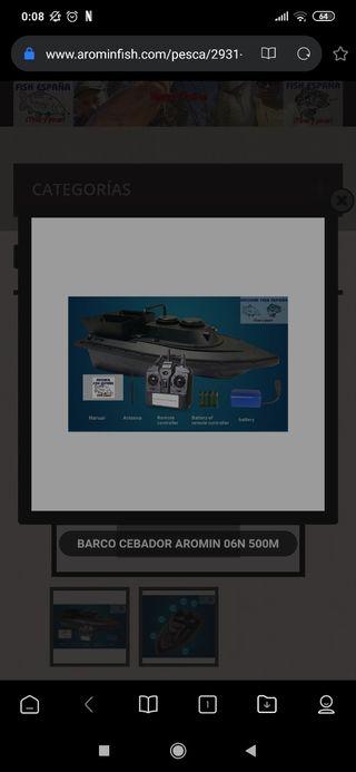 barco cebador