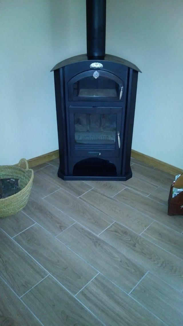 Estufa de leña horno modelo Blanes Bronpi