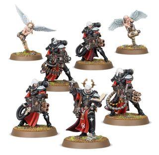 Battle sisters retributor squad warhammer 40000