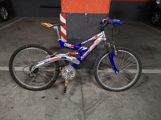 Bicicleta de montaña 24''