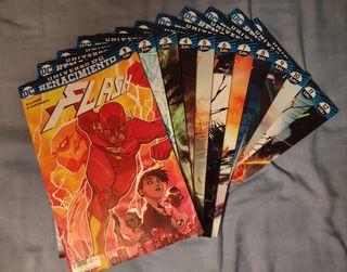 Cómics de Flash (Renacimiento) del 1 al 12