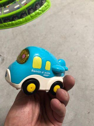 Coche Tuc tuc de juguete Ramon el avion