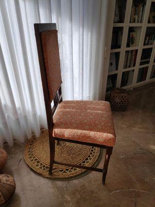 6 sillas antiguas