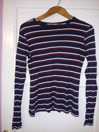 camiseta mujer manga larga talla M