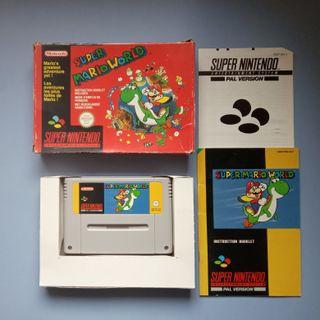 Super Mario World Pal Supernintendo Nintendo