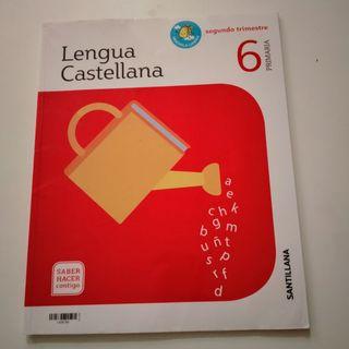 libro de texto lengua castellana 6 primaria