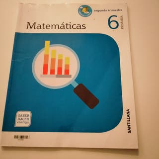 libro de texto de 6 primaria matemáticas