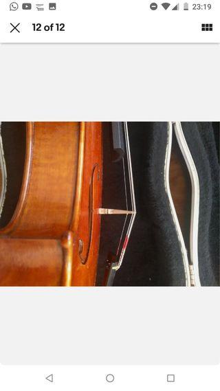 violin de 3 años con clavijas planetary perfection