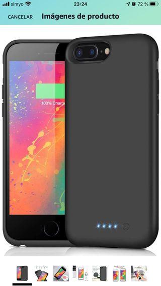 NUEVO funda batería iPhone 7 y 8 Plus