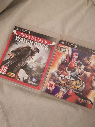 Juegos de PS3 2 × 8€