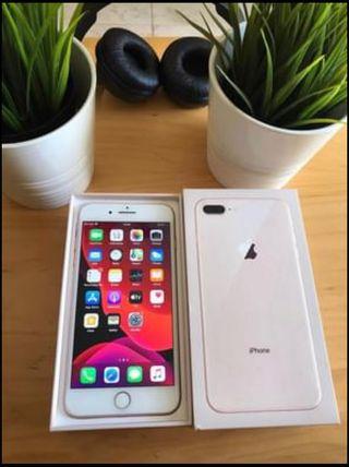 IPhone 8 Plus Rose Gold + funda Apple