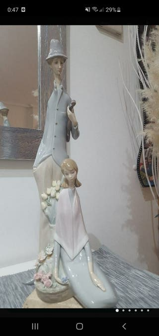 Figura lladro violinista y chica